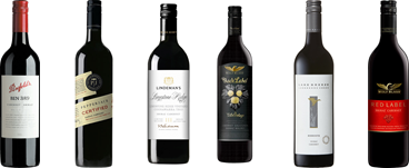 Shiraz and Cabernet  Sauv